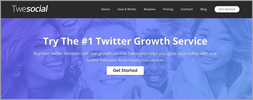 Outils Twitter du service TweSocial