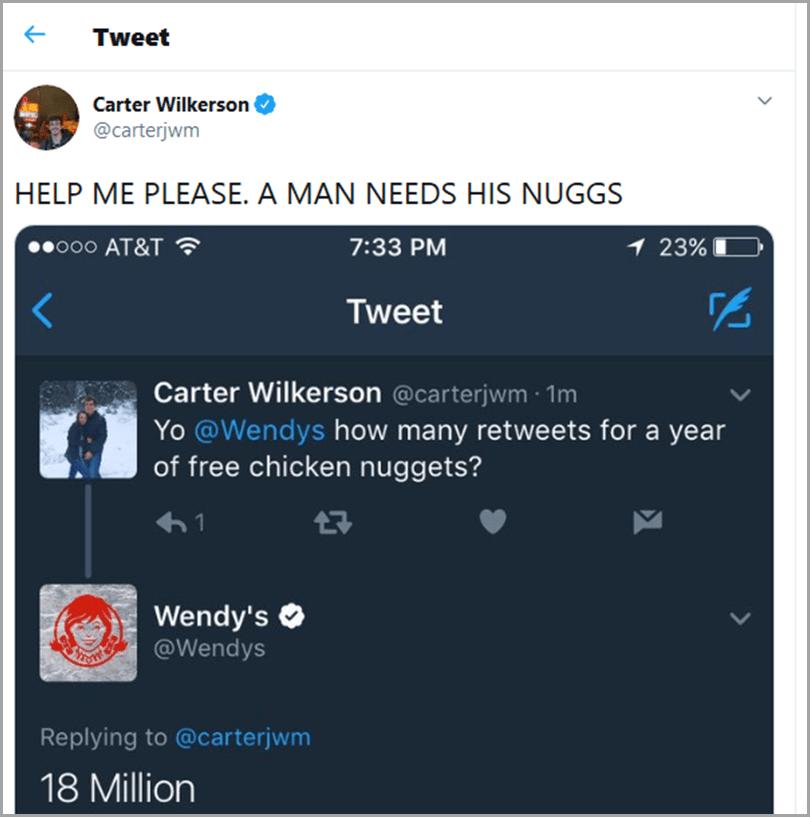 Wendy-Free-Nuggets- réputation de la marque