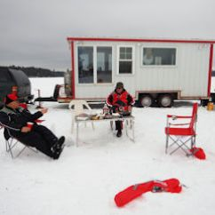 Ice Fishing Lawn Chair Safari High Decorations For Musky Archives Jeff Currier Unlike Yesterday Where We Spent Most The Day In Shack Lounged Around Outside Grabbed Chairs And Spread Them Out Like It Was A