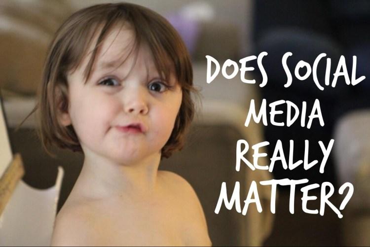 Does Social Media Marketing Matter?