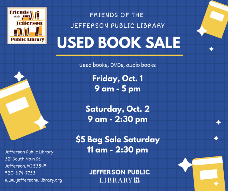 Upcoming Used Book Sale