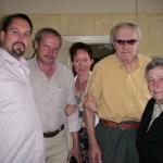 Me, Janis, Gita, Janis and Austra in 2005.