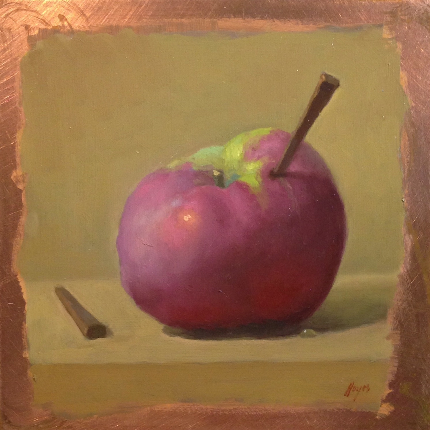 Jeffrey Hayes: Still Life Painting: Oil Painting: Endurance