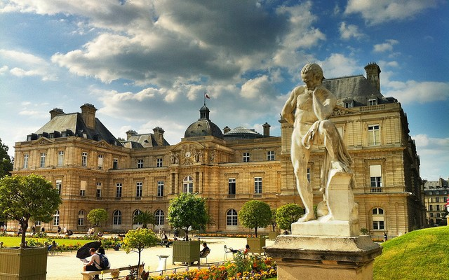 Day 7 in Paris: Jardin du Luxembourg