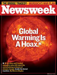 Newsweek cover, August 13, 2007