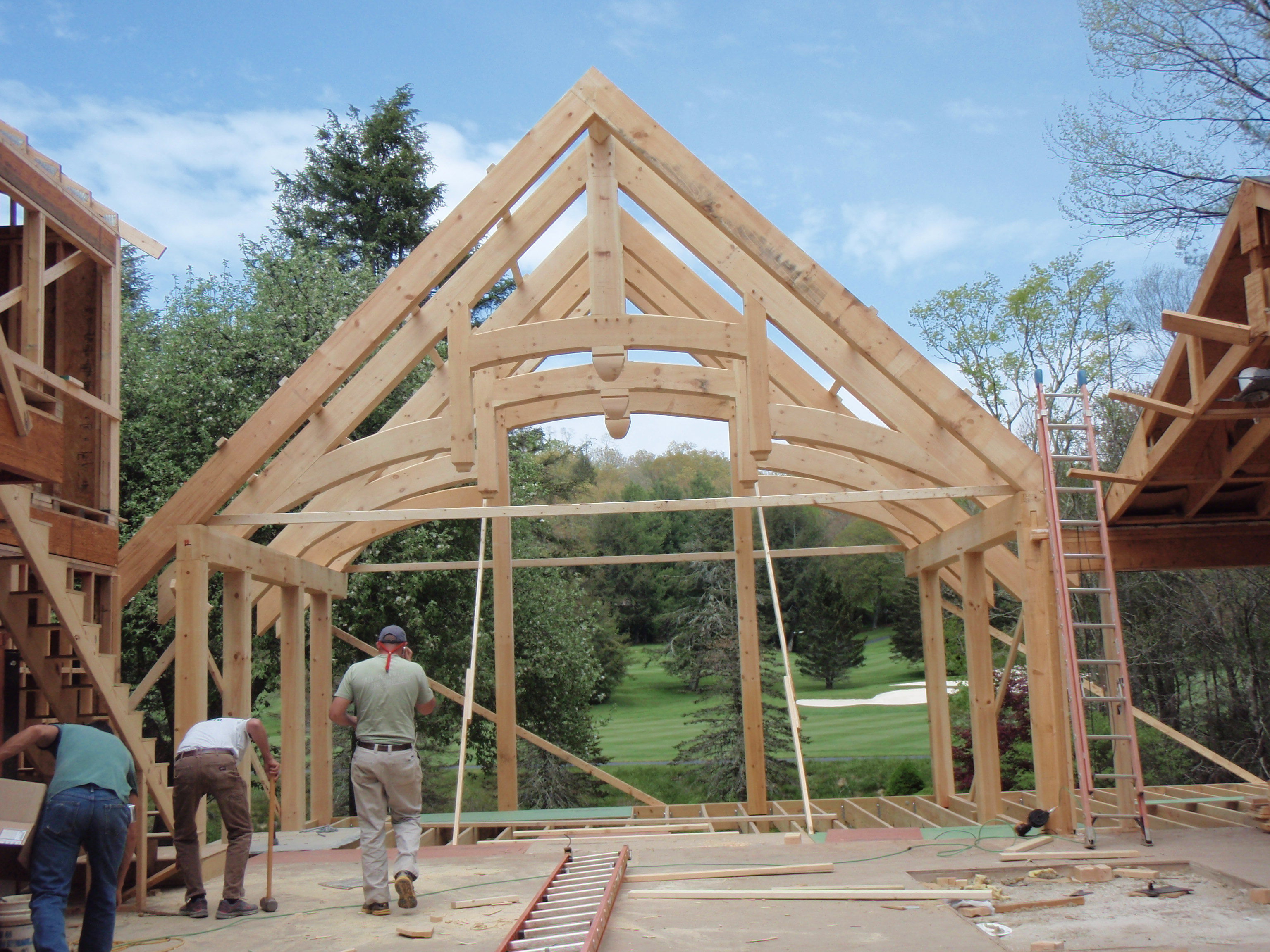 Timber Frame Building Heavy Timber Building Post Amp Beam Framers