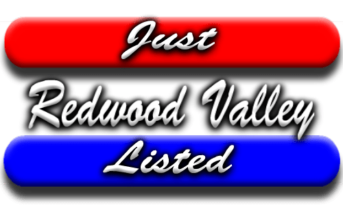 Newly listed properties for sale in Redwood Valley CA