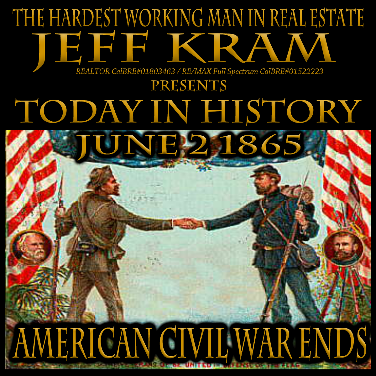Today In History June 2 1865