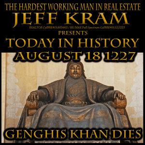 Today in History August 18 1227