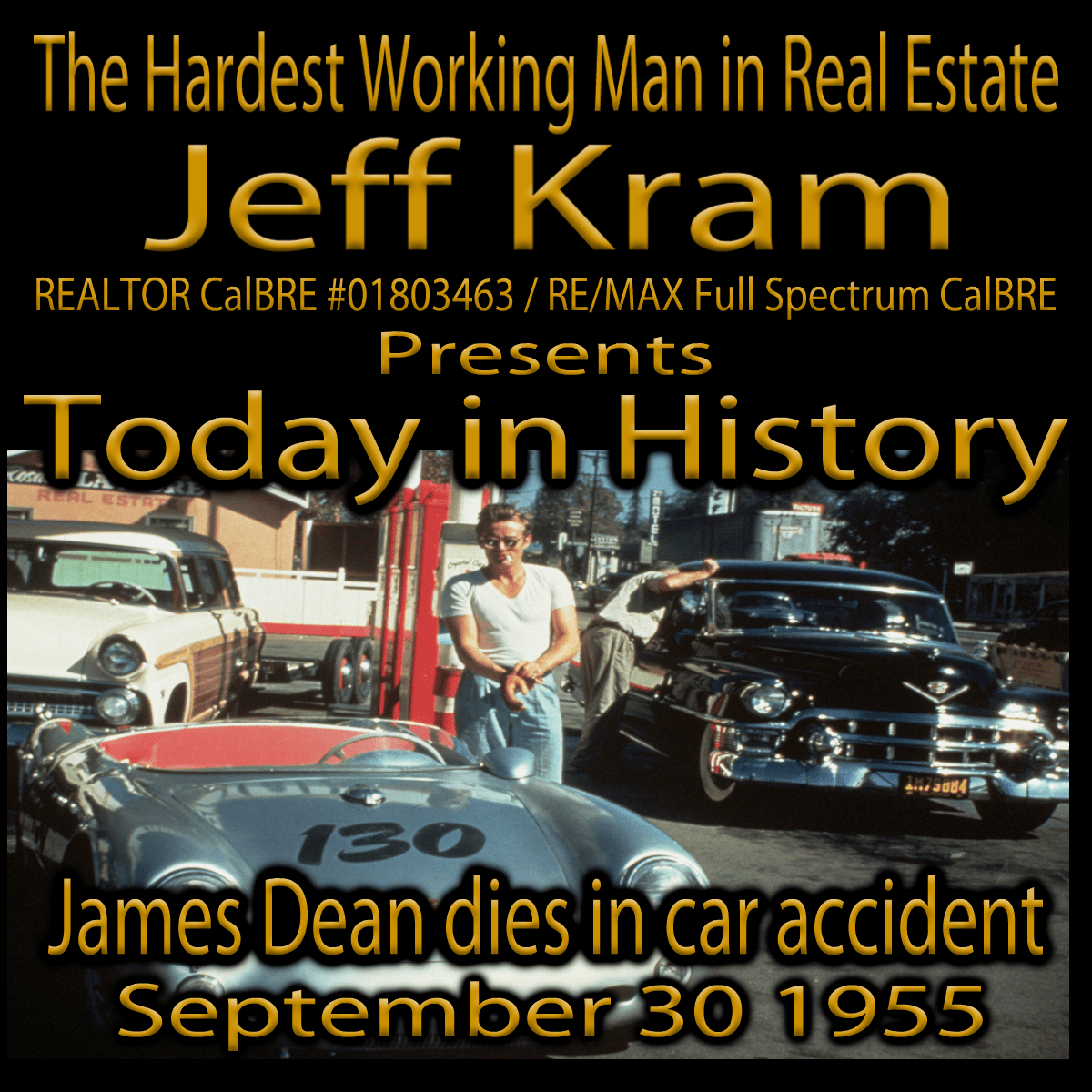 Today in History September 30 / James Dean dies in car accident