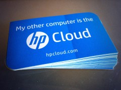 HP Cloud Stickers