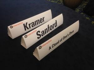 Kramer SXSW Cloud Placards