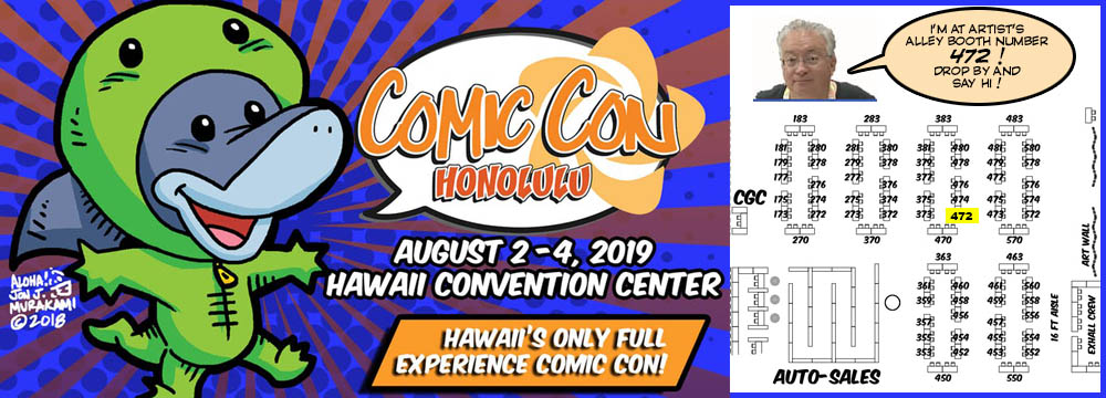 Comic Con Honolulu 2019