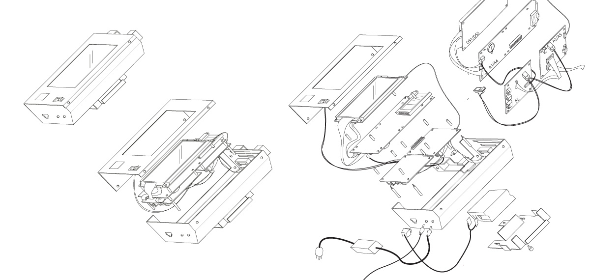 Conceptual drawings and illustrations for manuals of