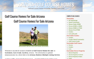 cave creek golf course home,85331 golf course home