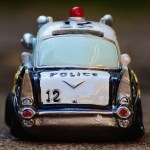 Picture of a toy police car