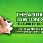 AM980 Banner for the Andrew Lawton show
