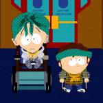Timmy and Jimmy in gang attire