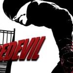 Noir comic-style poster for Netflix's Daredevil