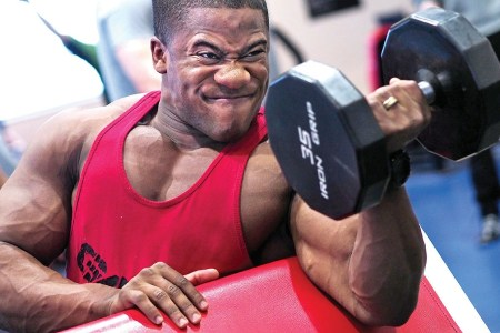 Marine muscle bulking stack and workout