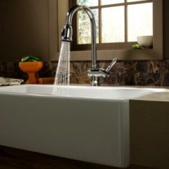Kitchen Farmhouse Sinks Glass Cabinet Knobs Does Under-mounting A Sink Add Value? | Jeffrey Court ...