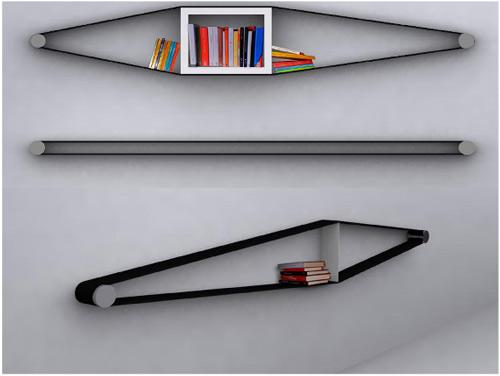 Elastico Bookshelves
