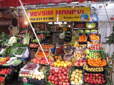Fruitstand in Istanbul