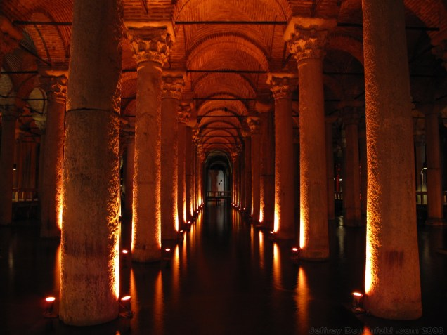 The Cisterns in Istanbul