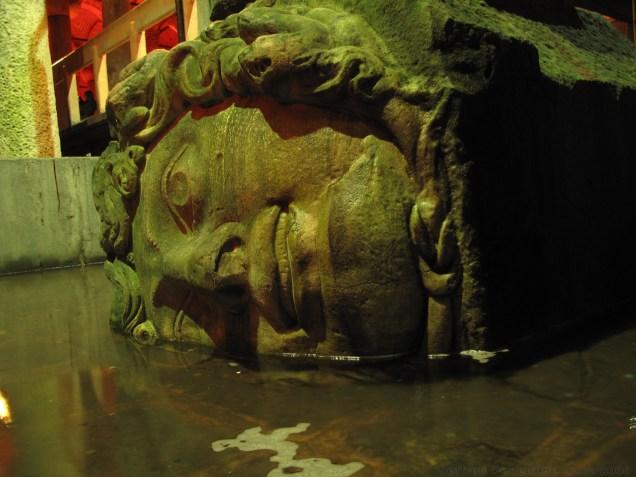 Medusa Head in the Cistern