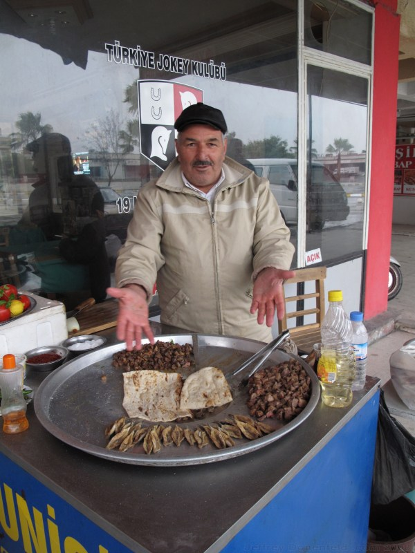 Street food in Adana