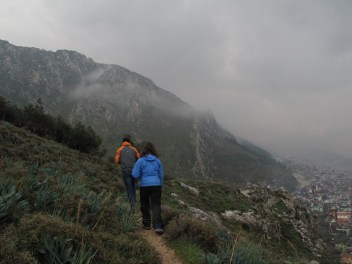 Hiking the ridge above St. Peters in Antakya