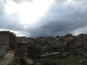 The ruins of St. Simeon