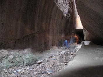 Inside the Roman Tunnels in Samandagi