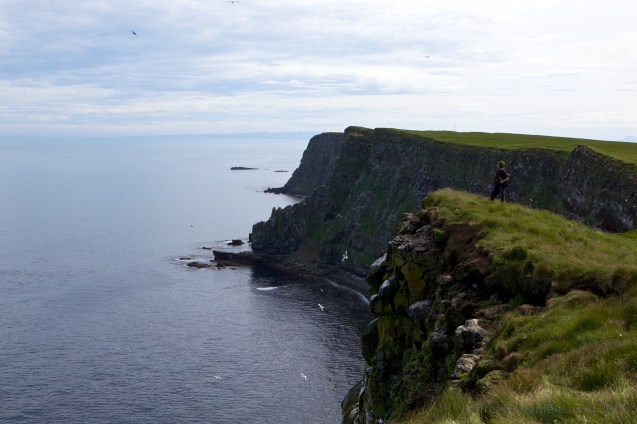Rock Cliffs in Grimsey