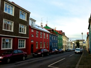Houses in Downtown Reykjavik