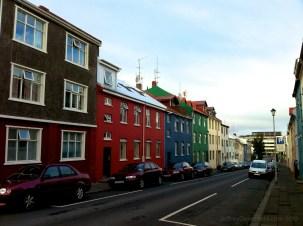 Houses in Downtown Reykjavik