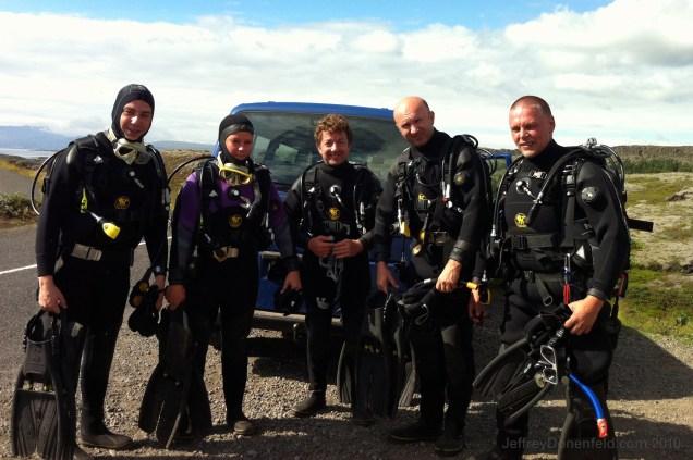 Drysuits for diving Silfra