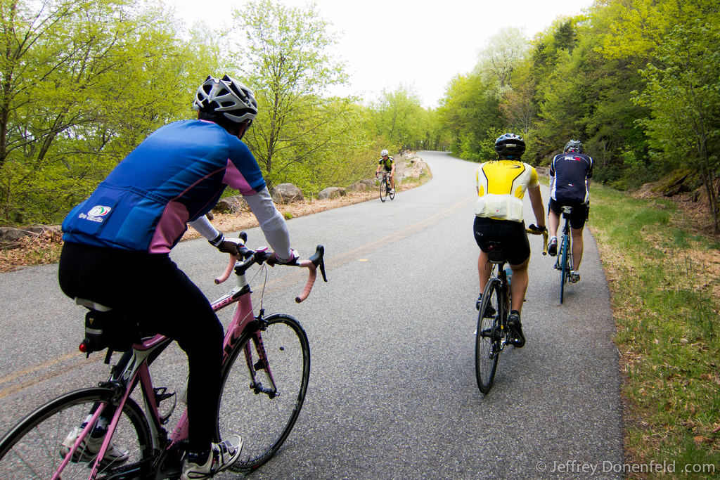 Biking to Bear Mountain with the New York Cycle Club