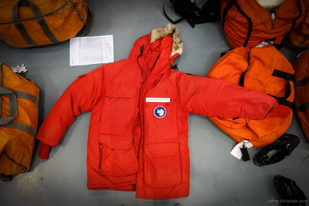Antarctic Extreme Cold Weather Gear Issue