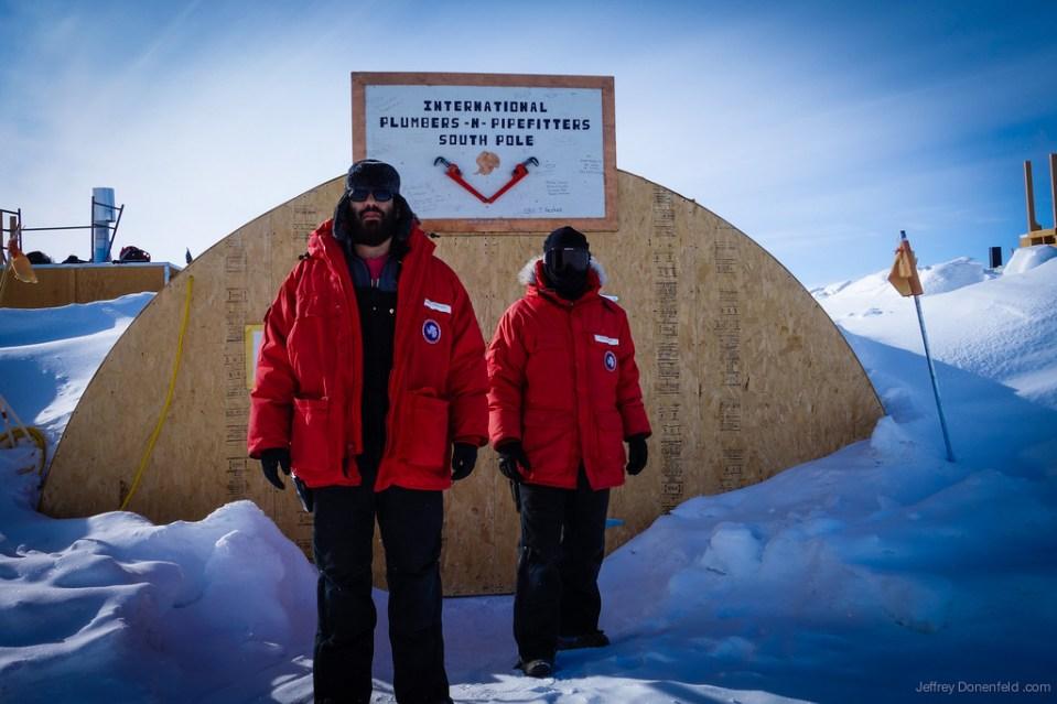 South Pole S Plumbing Shop Jeffrey Donenfeld