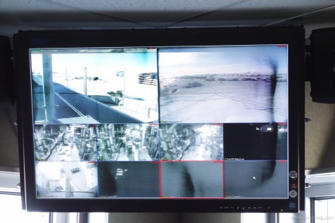 Video feeds from the various security cameras on station.