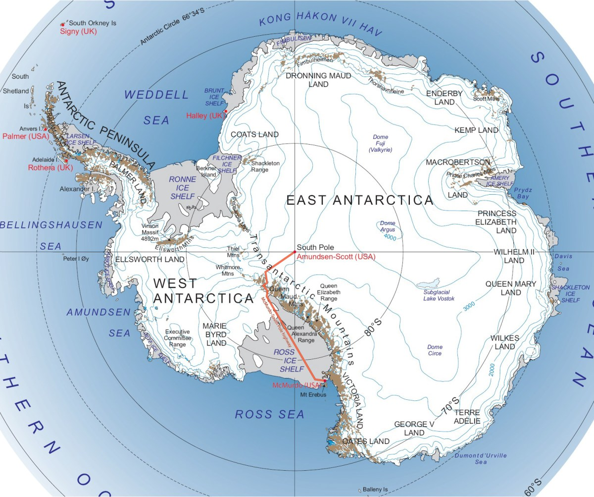 The South Pole Traverse Arrives