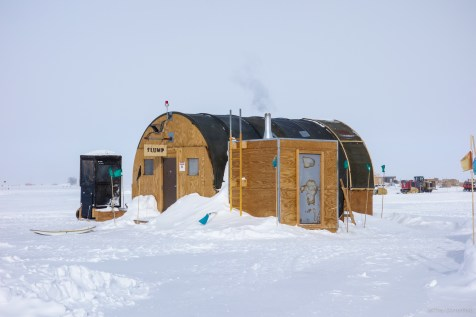 The Slump is the south pole's unofficial bar.
