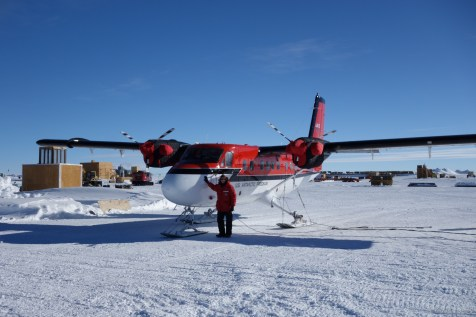 Twin Otters are frequently used by science teams for accessing remote field camps.
