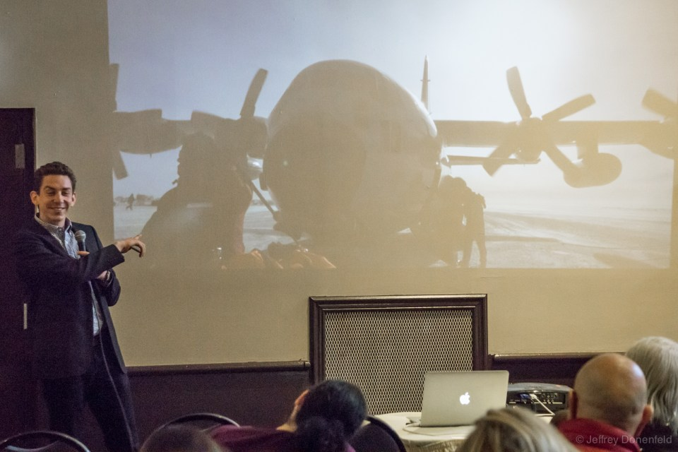 Antarctica Expert Jeffrey Donenfeld at the NY Travel Festival