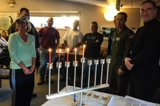 Celebrating Chanukah at McMurdo