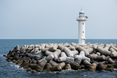 A lighthouse on the way to Udo Island
