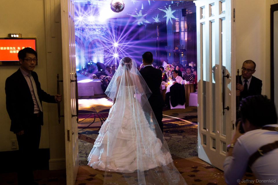 Weddings are a big deal, and it seemed like this ceremony was a huge disco party!