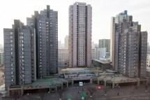 Apartment North Korea Fake Buildings