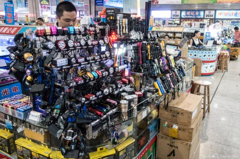 Every imaginable style of flashlight - all available in Shenzhen in quantities from 1 to a million.